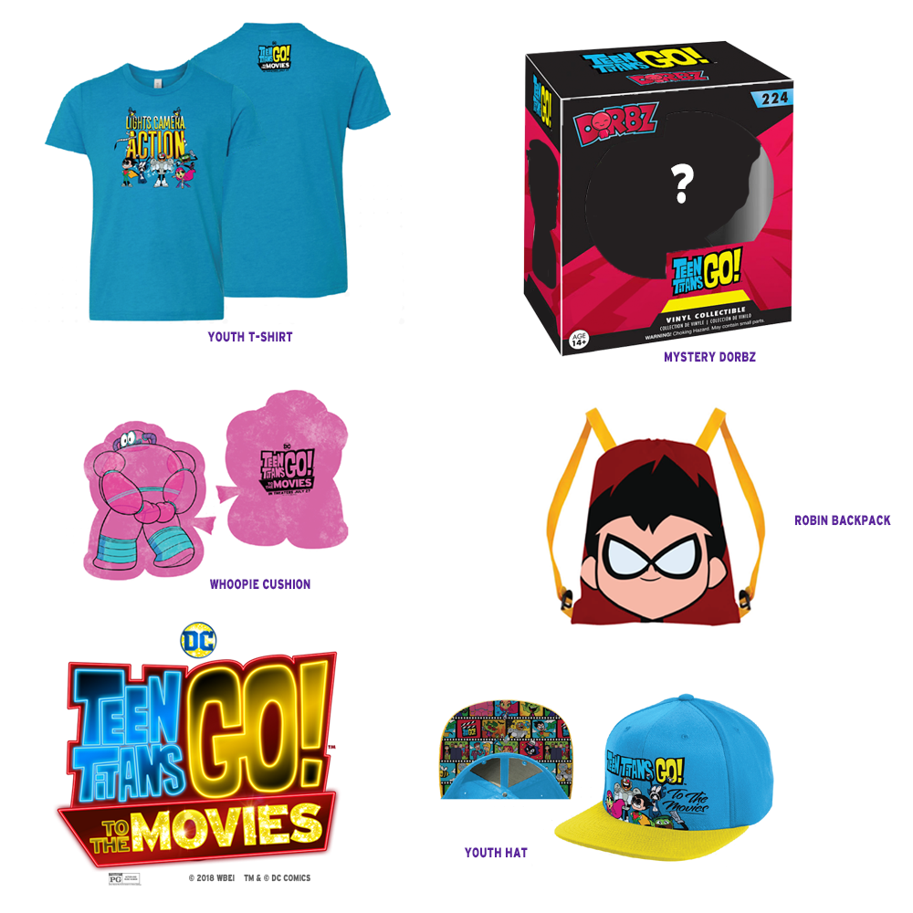 Win a Teen Titans Go! Prize Pack | L.A. LIVE