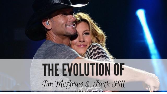 ac4790a07cb The evolution of Tim McGraw   Faith Hill