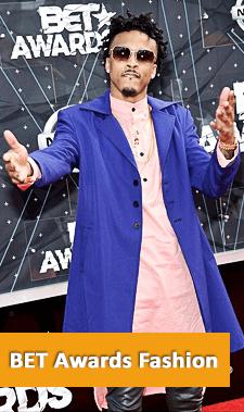 BET Awards Red Carpet 2015
