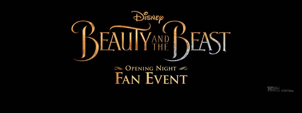 Beauty And The Beast Fan Opening Night Event
