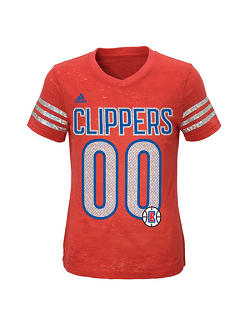 Clippers Youth Girls T-shirt.png