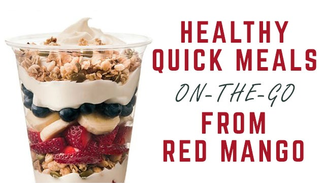 7e12e4be740 Healthy Quick Meals On-The-Go From Red Mango