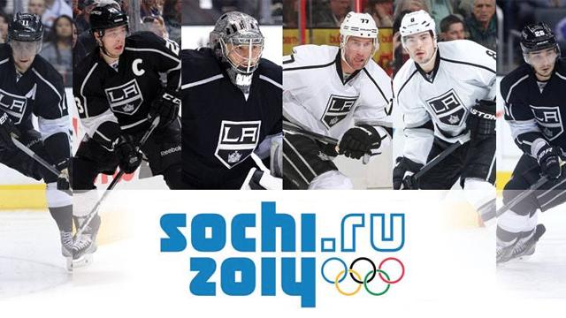 LA Kings Players Heading To The 2014 Olympics