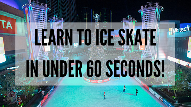 c91c5c174 Learn to Ice Skate in Under 60 Seconds