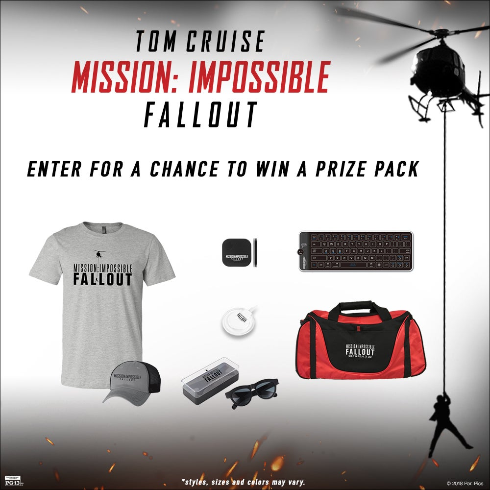 Win a Mission: Impossible - Fallout Prize Pack | L.A. LIVE