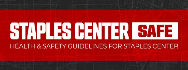 STAPLES Center Safe: Health and safety guidelines
