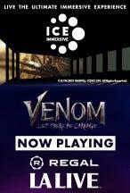 Venom movie art.