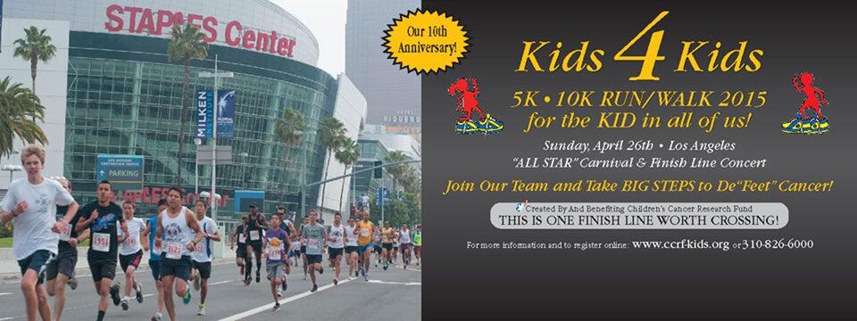 190a9571c47 Kids 4 Kids 5K • 10K RUN/WALK   L.A. LIVE